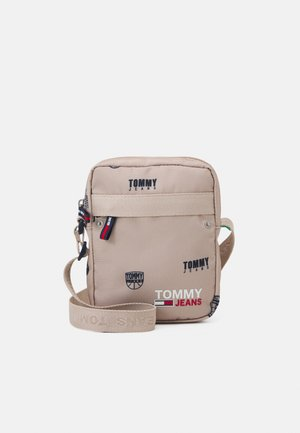 CAMPUSREPORTER PRINT UNISEX - Borsa a tracolla - beige