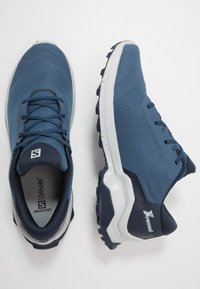 Salomon - X REVEAL - Hiking shoes - dark denim/navy blazer/pearl blue - 1