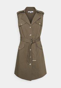 Morgan - RYEL - Shirt dress - thyme - 0