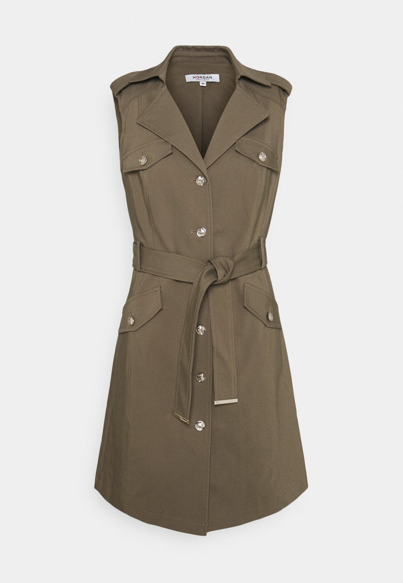 Morgan - RYEL - Shirt dress - thyme