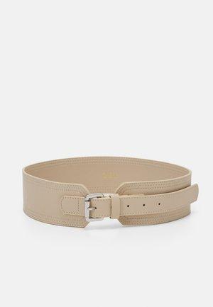 PCELLIA WAIST BELT - Waist belt - birch/silver