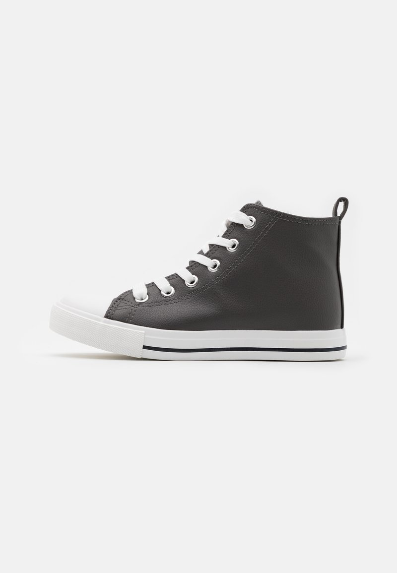 Cotton On - CLASSIC LACE UP UNISEX - High-top trainers - grey