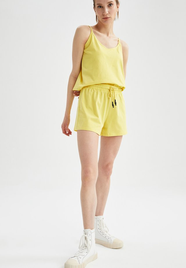 SET - Szorty - yellow