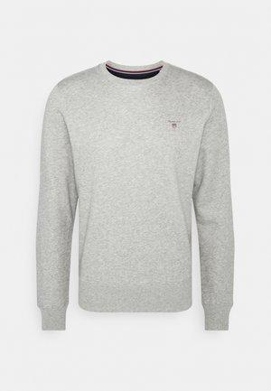 ORIGINAL C NECK - Felpa - grey melange