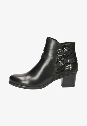 STIEFELETTE - Ankle boots - black comb