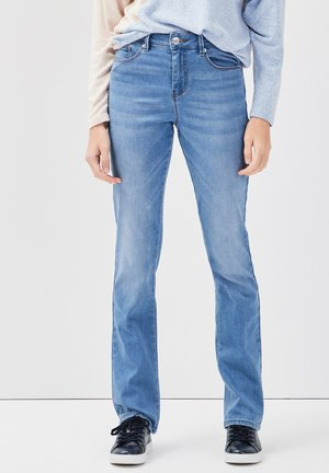 Straight leg jeans - denim double stone