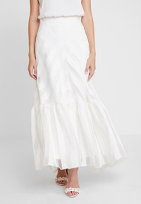 IVY & OAK BRIDAL - VOLANT SKIRT - Maxi skirt - snow white - 0
