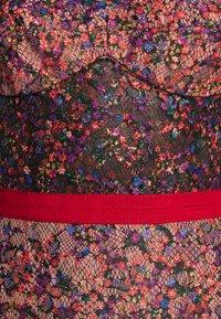 Allen Schwartz - EDEN BUSTIER DRESS IN PRINTED - Vestito elegante - red - 11