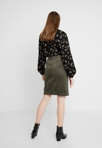 JDY - A-snit nederdel/ A-formede nederdele - grape leaf - 2