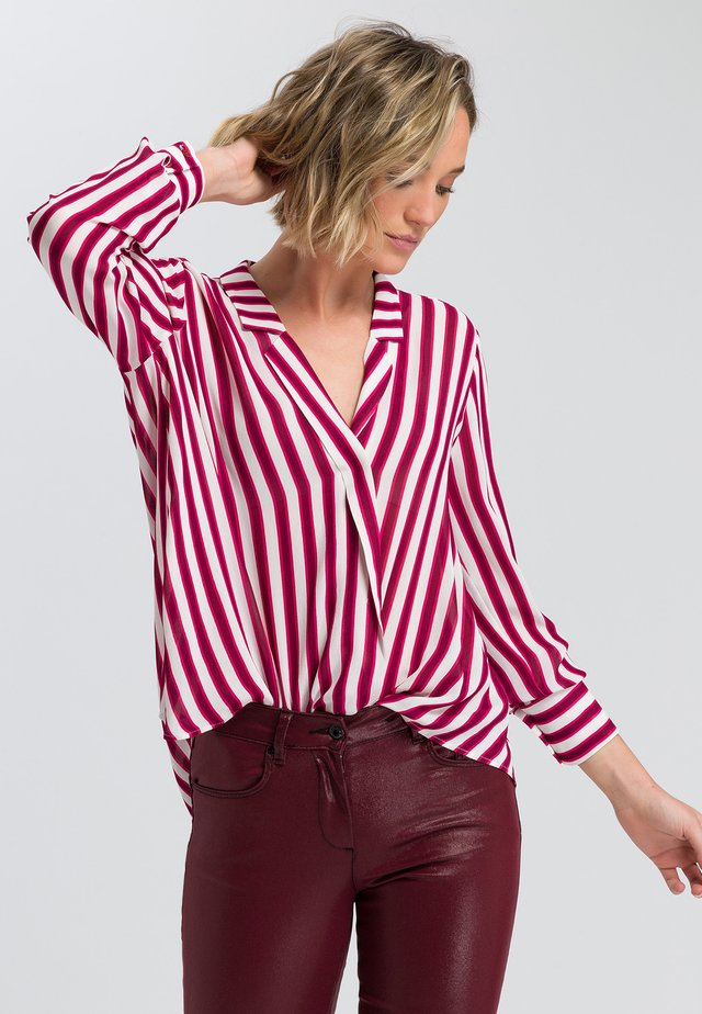 Blouse - vino tinto varied