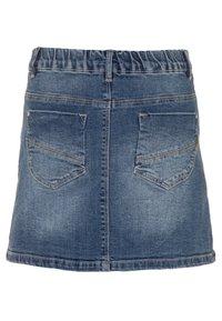 Name it - NKFTEGANI A-SHAPE SKIRT - Denim skirt - medium blue denim - 1