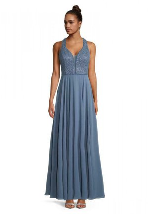 Cocktail dress / Party dress - hushed blue