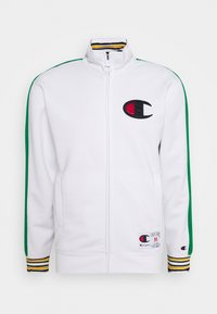Champion - ROCHESTER RETRO BASKET FULL ZIP - Kurtka sportowa - white/green - 5