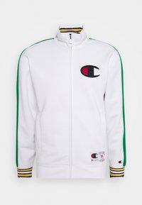 ROCHESTER RETRO BASKET FULL ZIP - Training jacket - white/green