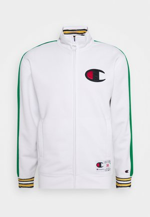 ROCHESTER RETRO BASKET FULL ZIP - Kurtka sportowa - white/green