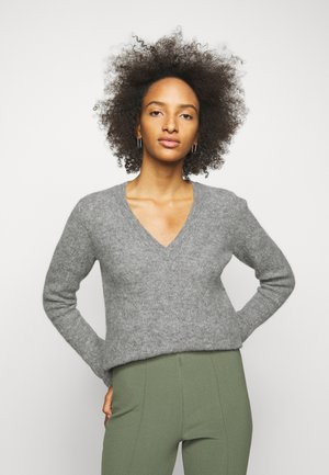 BIFORA - Jumper - medium grey melange