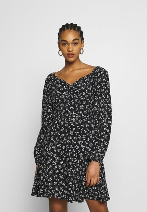 Day dress - black/beige