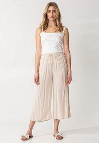 Indiska - ELSIE  - Trousers - beige - 1