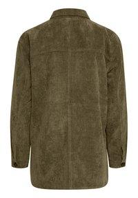 Fransa - FRMACORDUROY - Summer jacket - dark olive - 7