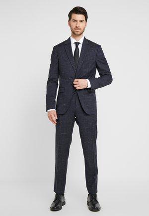 SLIM FIT SUIT - Suit - blue