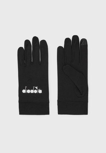WINTER GLOVES TOUCH UNISEX - Rękawiczki pięciopalcowe - pirate black