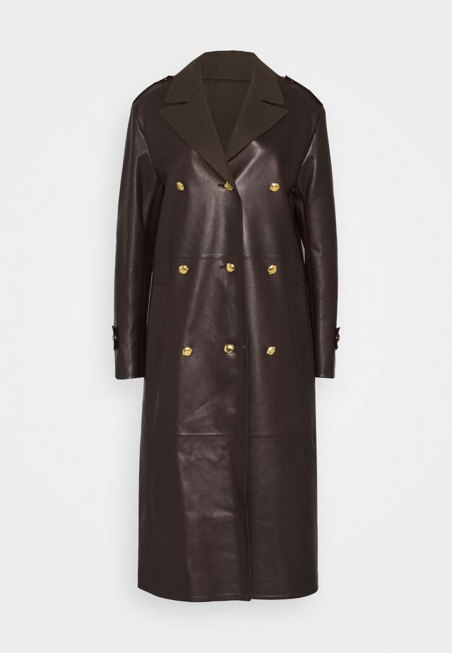 DOUBLE FACED COAT - Trench - coffee