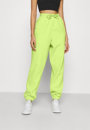 PANT - Tracksuit bottoms - semi frozen yellow