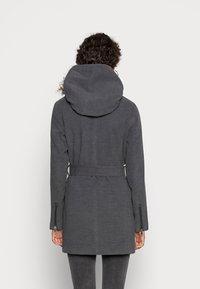 ONLY - ONLCANE COAT - Mantel - dark grey melange - 2