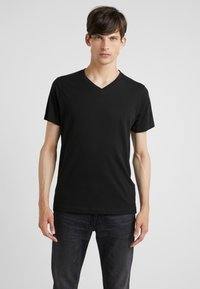 KARL LAGERFELD - DUO 2 PACK - Basic T-shirt - black - 1