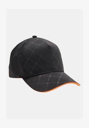 GLÄNZENDE UNISEX LOGOPRINT BASE COMANI - Cap - schwarz