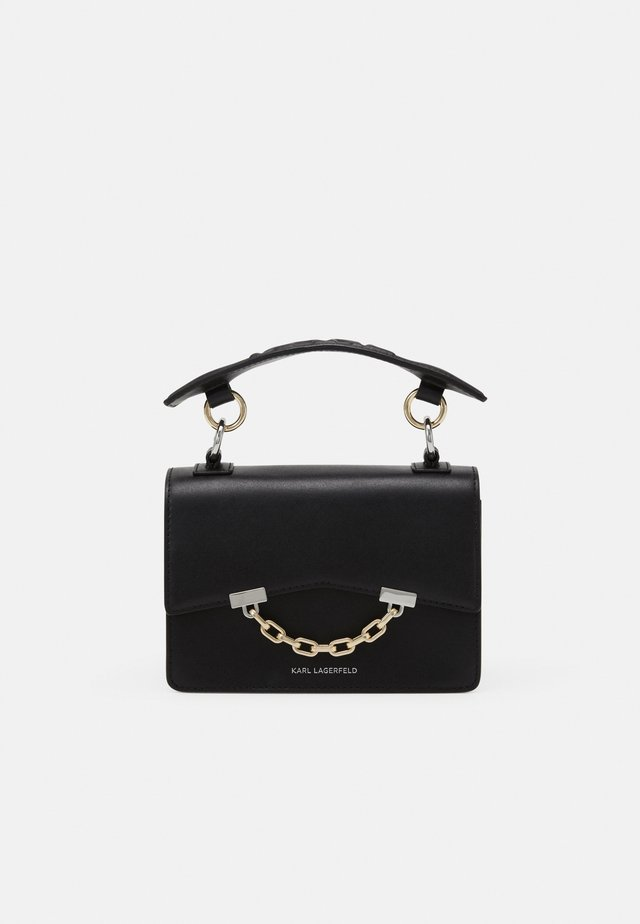 SEVEN MINI SHOULDERBAG - Håndveske - black