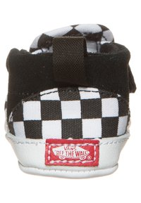 Vans - SLIP-ON V CRIB - First shoes - black/true white - 1