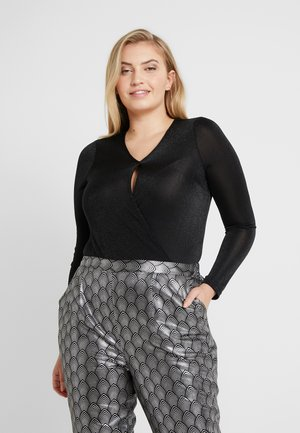 VMDENISE WRAP - Blouse - black