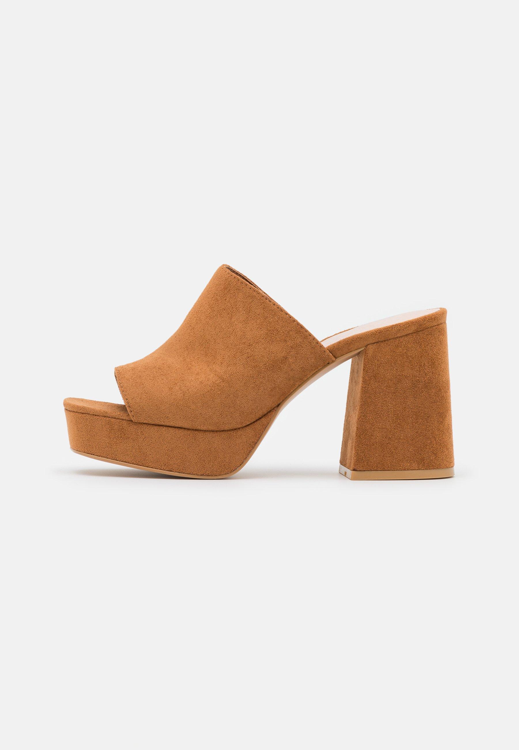 Women Heeled mules