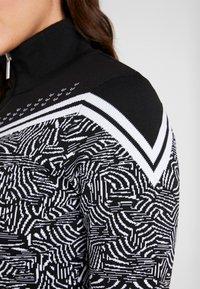 Icepeak - EMELLE - Zip-up hoodie - black/white - 4