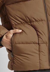 TOM TAILOR - MIT KAPUZE - Winter jacket - toasted coconut - 4
