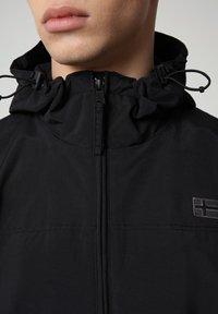 Napapijri - SHELTER HOOD - Light jacket - black - 4