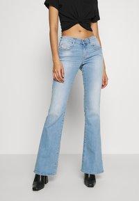 Diesel - D-EBBEY - Flared Jeans - blue denim - 0