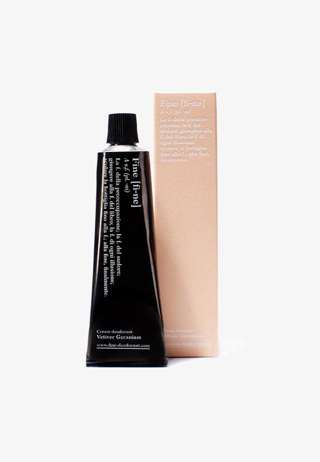 DEODORANT TUBE - Deodoranter - vetiver/geranium