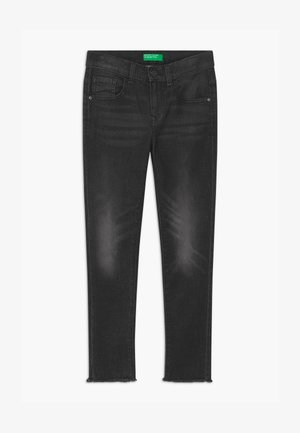 KEITH KISS GIRL - Skinny-Farkut - black