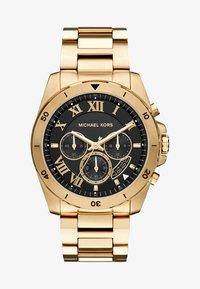Michael Kors - BRECKEN - Chronograph watch - gold-coloured - 1