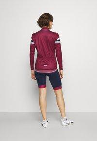 8848 Altitude - CHERIE JACKET LEOPARD - Training jacket - burgundy - 2