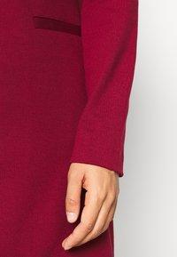 Vero Moda - VMCHLOE LONG BOO - Krótki płaszcz - cabernet - 5
