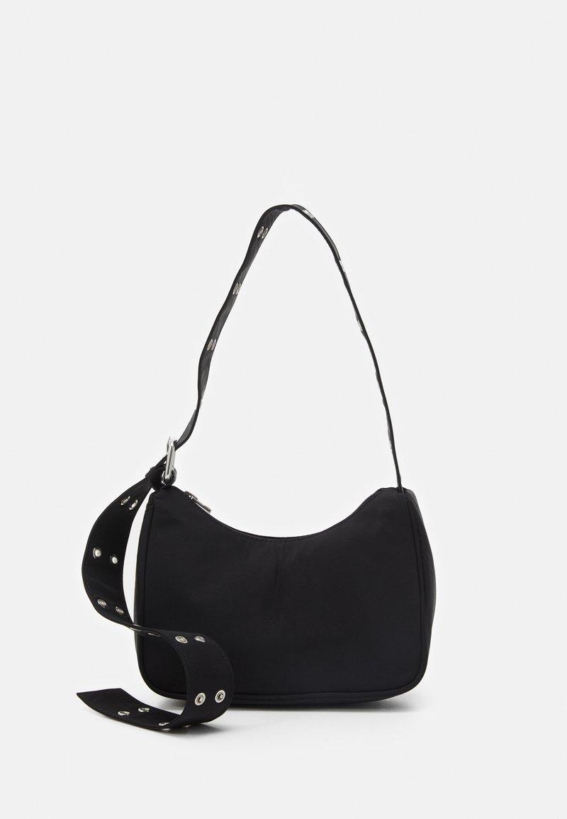 Weekday - SPACE MINI HANDBAG - Across body bag - black