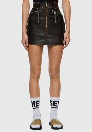 EMILIA - A-line skirt - black