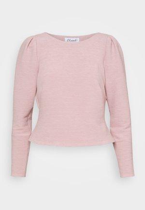 CLOSET PLEATED SLEEVE - Camiseta de manga larga - blush