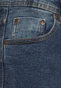 Denim Project - LIGHT DESTROY - Denim shorts - texas blue - 3