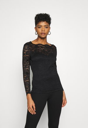 VIELLIS TOP - Blouse - black