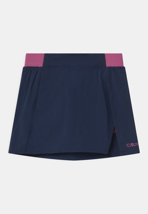 Sports skirt - blue/malva