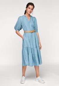 s.Oliver - Maxi dress - blue lagoon denim - 1